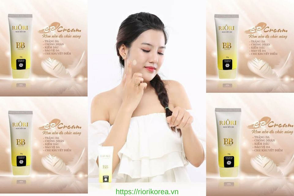 Kem nền che khuyết điểm Riori BB Cream Đang Được Nhiều Chị Em Quan Tâm