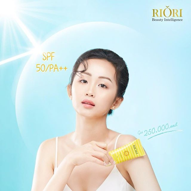 Kem Chống Nắng Vật Lý Lai Hóa Học Sun Cream Riori bí quyết giữ mãi tuổi thanh xuân