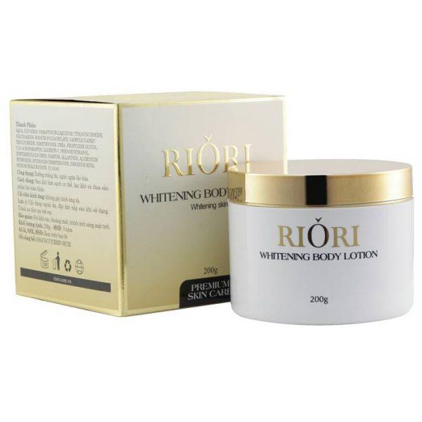 Kem dưỡng trắng da body Riori