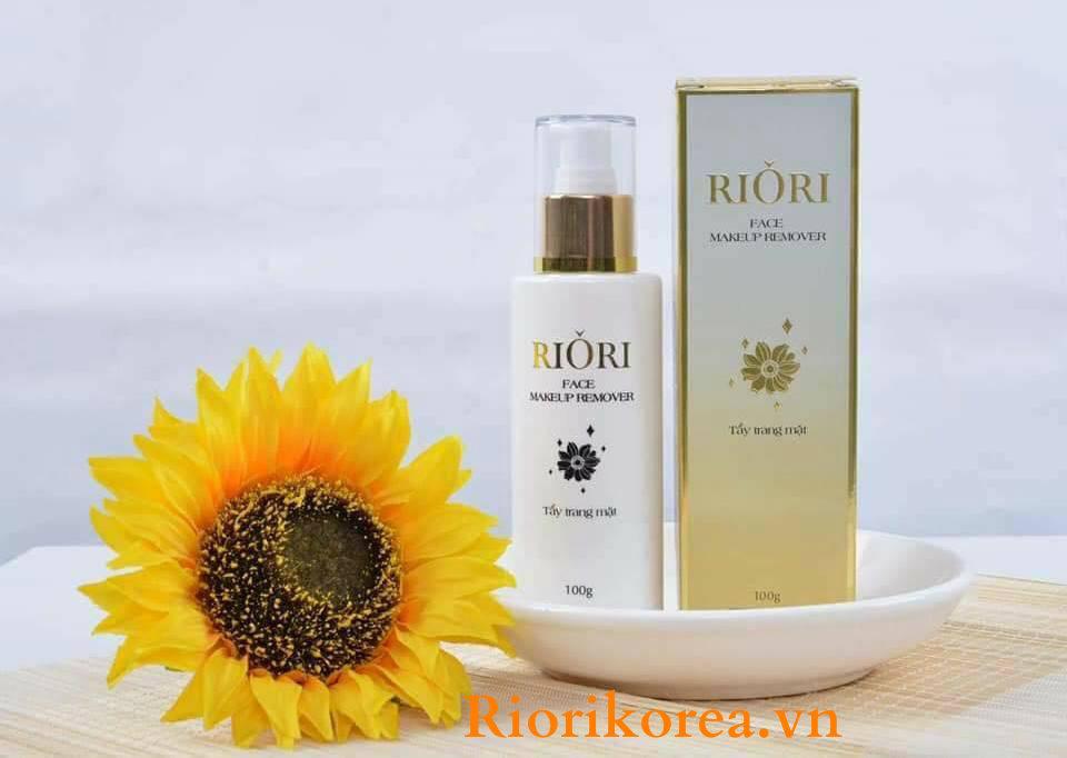 Ưu điểm của kem tẩy trang mặt Riori so với các loại kem tẩy trang khác trên thị trường