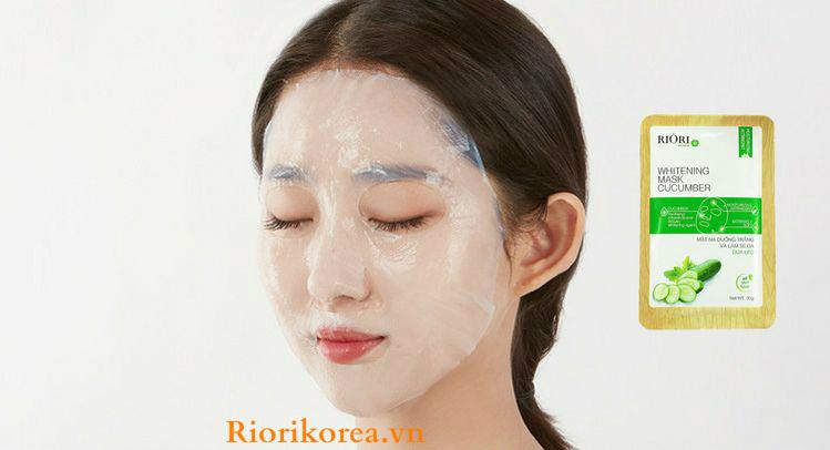 Mặt nạ dưỡng ẩm trắng da dưa leo dưỡng trắng da hiệu quả nhất