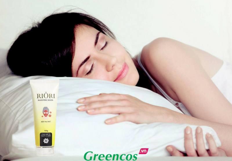 Mặt nạ ngủ cấp nước dưỡng trắng da Riori Sleeping Mask tốt nhất hiện nay
