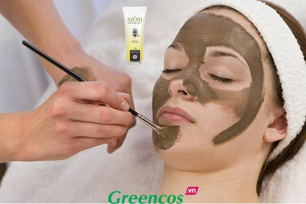 Mặt nạ thải độc bùn khoáng Riori Zerotoxic Mask