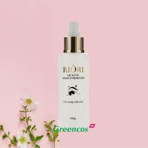 Nước tẩy trang mắt môi Riori Lip & Eye Makup Remover