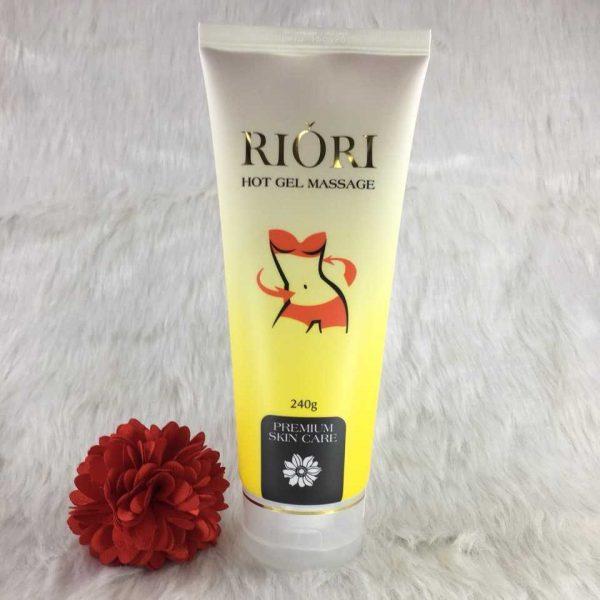Kem tan mỡ bụng Riori - Gel massage tan mỡ bụng