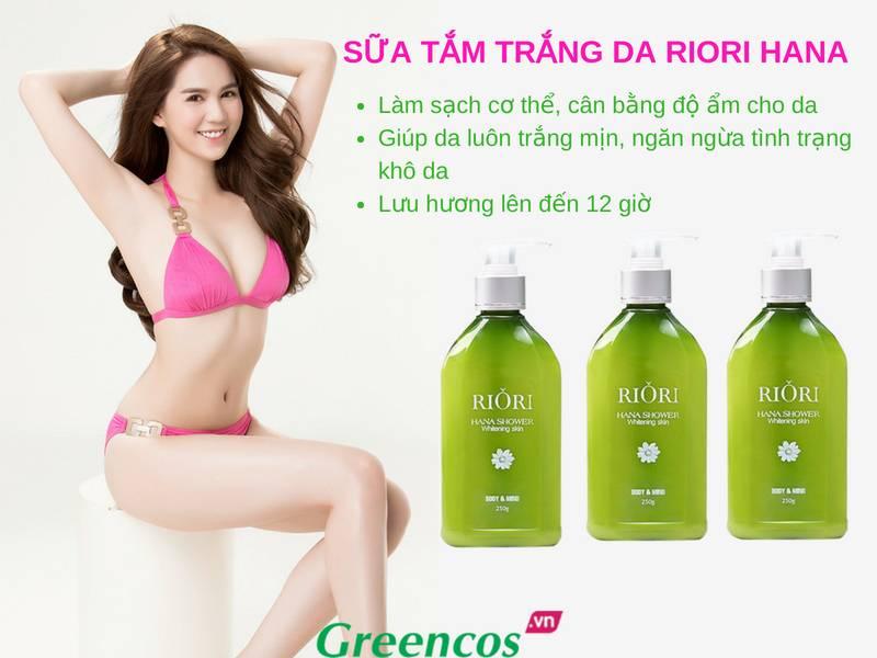 Ưu điểm vượt trội của sữa tắm trắng da Rori Hana Shower so với các loại sữa tắm trắng khác trên thị trường