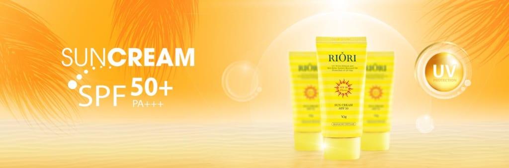 Kem chống nắng Riori