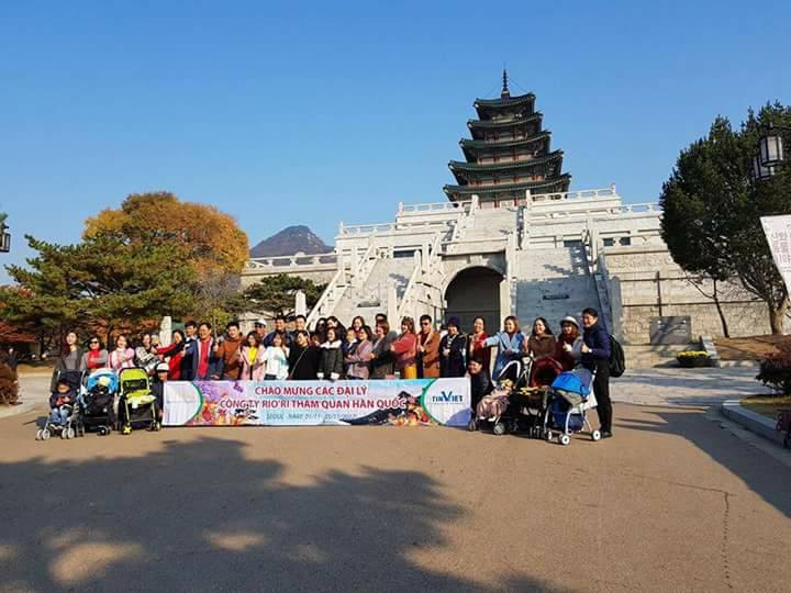 Riori tổ chức tham quan du lịch miễn phí cho các đại lý đạt doanh số theo quy định