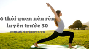 6+ Thói quen chống lão hóa da bạn nên rèn luyện trước khi chạm ngưỡng 30