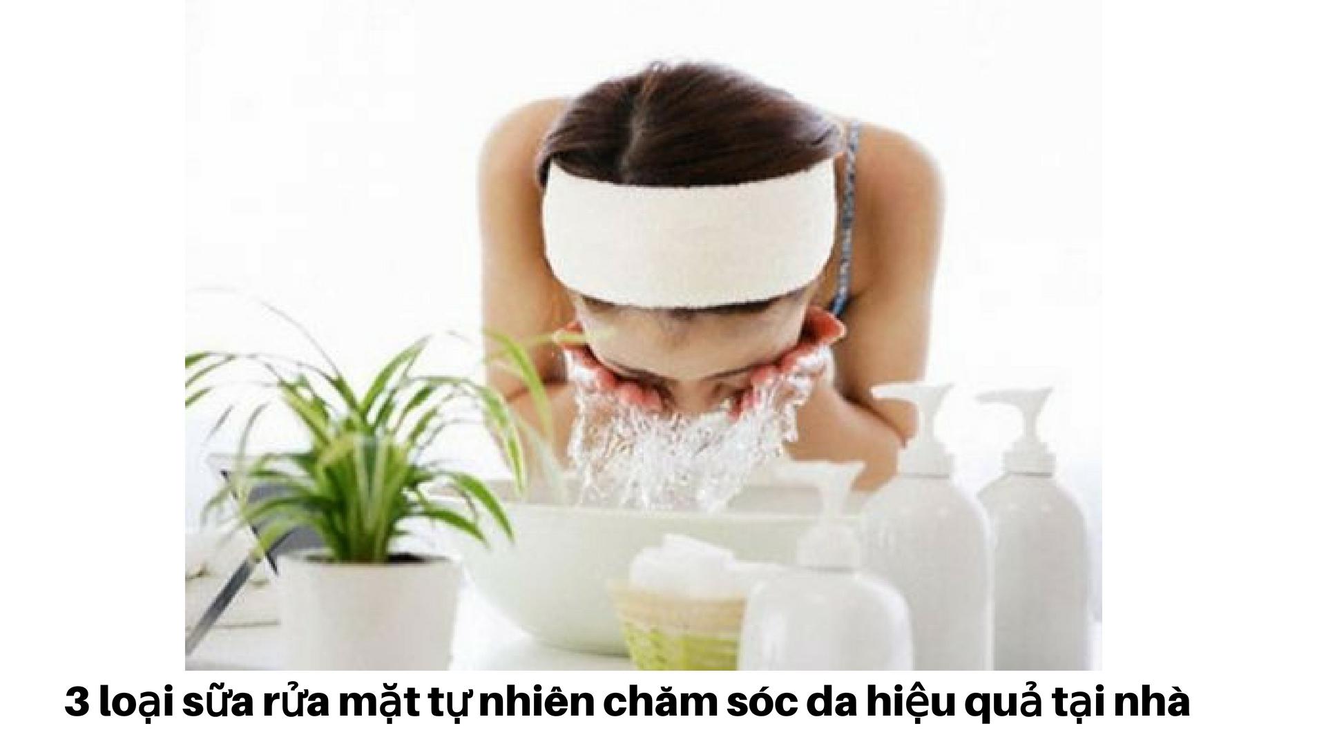 Học Lõm 3+ Công Thức Sữa Rửa Mặt Tự Nhiên Đơn Giản Tại Nhà