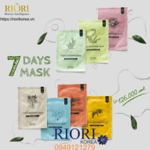 Mặt Nạ Giấy 7 Ngày Days Mask Riori