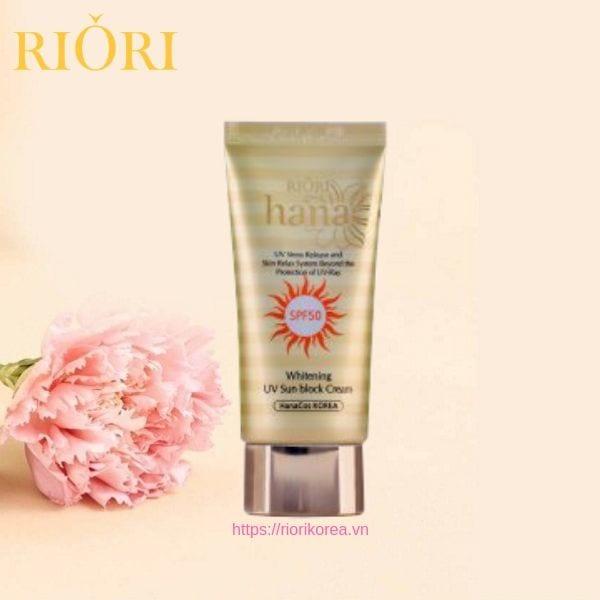 Kem Chống Nắng UV Sun Block Cream Riori