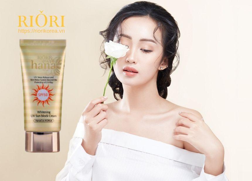 Kem Chống Nắng UV Sun Block Cream Riori - Kem Dưỡng Da Chống Nắng Hiệu Quả Nhất