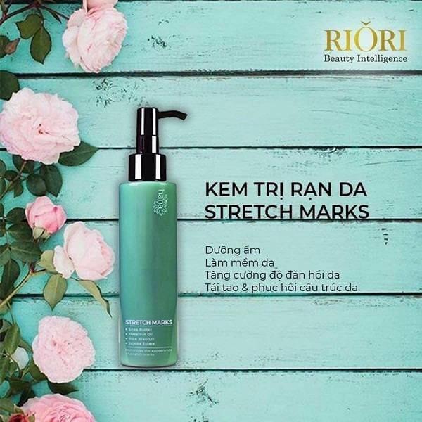Kem trị rạn da Stretch Marks Riori